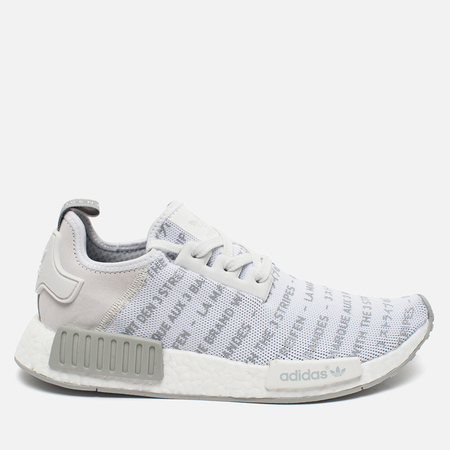 Кроссовки adidas Originals NMD R1 White/Chalk Solid/Grey