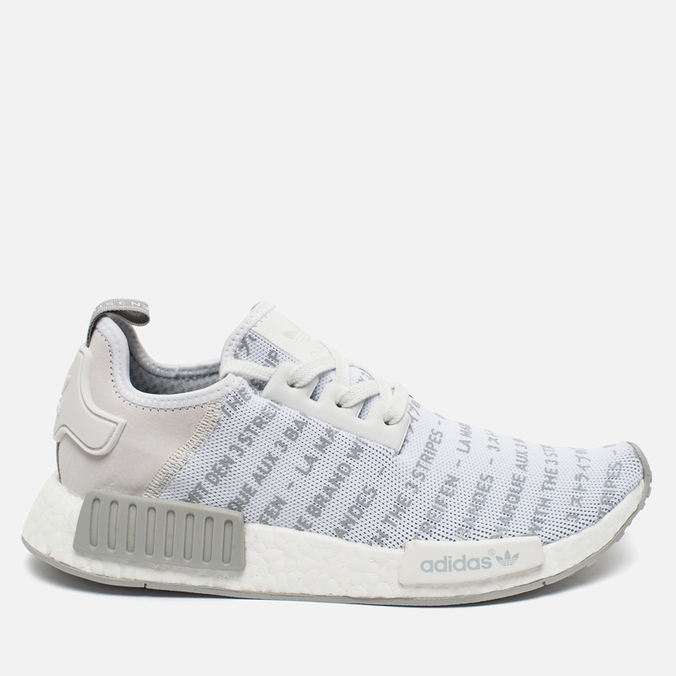 adidas Originals NMD R1 Sneakers White/Chalk Solid/Grey