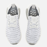 adidas Originals NMD R1 Sneakers White/Chalk Solid/Grey photo- 4