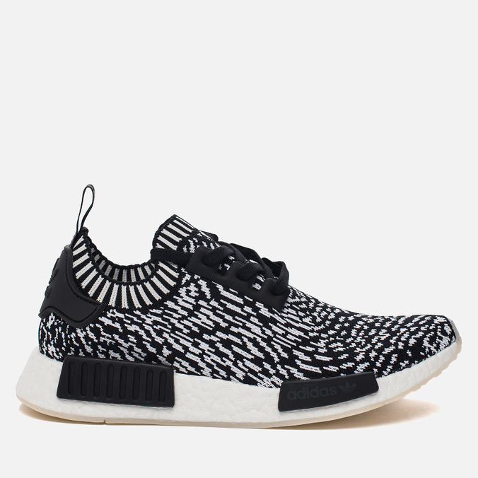 Кроссовки adidas Originals NMD R1 Primeknit Zebra Pack Core Black/White