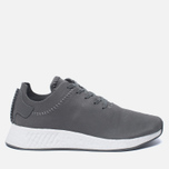 Кроссовки adidas Originals x Wings + Horns NMD R2 Ash/Ash/Off White фото- 0