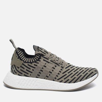 Adidas Originals NMD R2 Primeknit Olive/Black