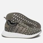Кроссовки adidas Originals NMD R2 Primeknit Olive/Black фото- 1