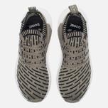 Кроссовки adidas Originals NMD R2 Primeknit Olive/Black фото- 4
