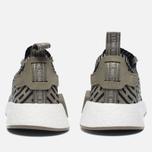Кроссовки adidas Originals NMD R2 Primeknit Olive/Black фото- 5