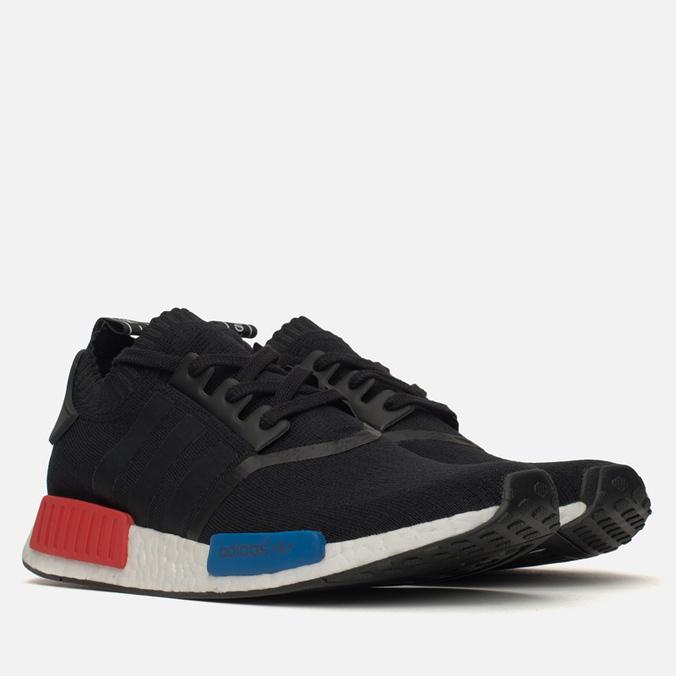 tlzdng Кроссовки adidas Originals NMD Runner PK Black/Blue/Red S79168