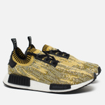 Кроссовки adidas Originals NMD Runner PK Gold Black/Yellow фото- 1