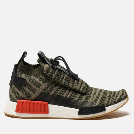 Кроссовки adidas Originals NMD TS1 Primeknit Night Cargo/Base Green/Trace Cargo