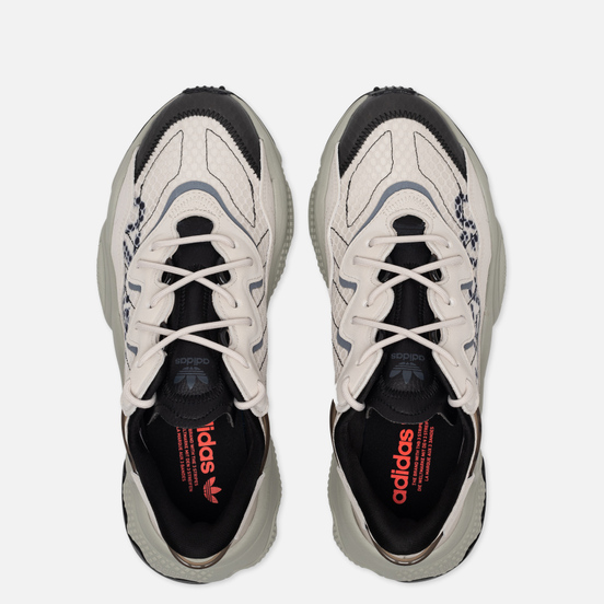 Мужские кроссовки adidas Originals Ozweego Clear Brown/Clear Brown/Solar Red