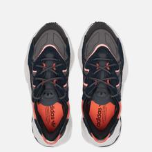 Кроссовки adidas Originals Ozweego Core Black/Grey Six/Signal Coral фото- 1