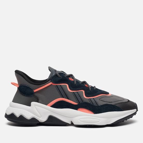 Кроссовки adidas Originals Ozweego Core Black/Grey Six/Signal Coral