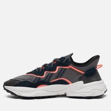 Кроссовки adidas Originals Ozweego Core Black/Grey Six/Signal Coral фото- 5