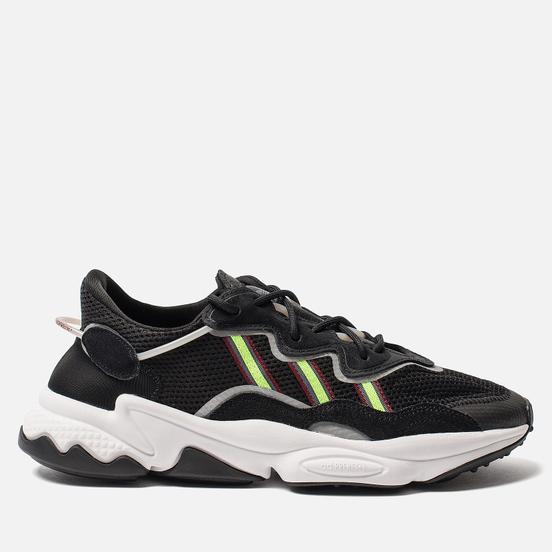 Кроссовки adidas Originals Ozweego Core Black/Solar Green/Onix