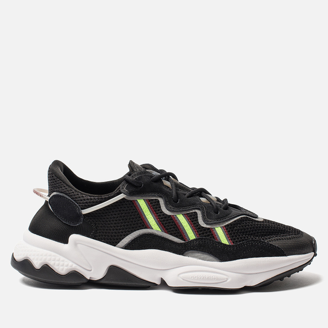 Кроссовки adidas Originals Ozweego Core Black/Solar Green/Onix