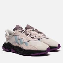Кроссовки adidas Originals Ozweego Grey One/Ash Grey/Purple Tint фото- 0