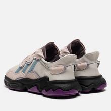 Кроссовки adidas Originals Ozweego Grey One/Ash Grey/Purple Tint фото- 2