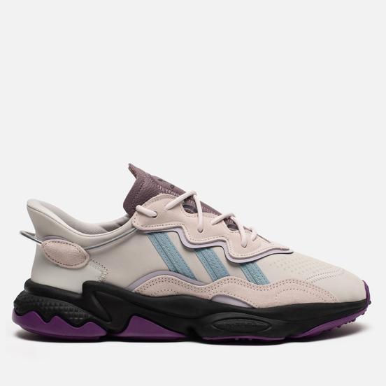 Кроссовки adidas Originals Ozweego Grey One/Ash Grey/Purple Tint