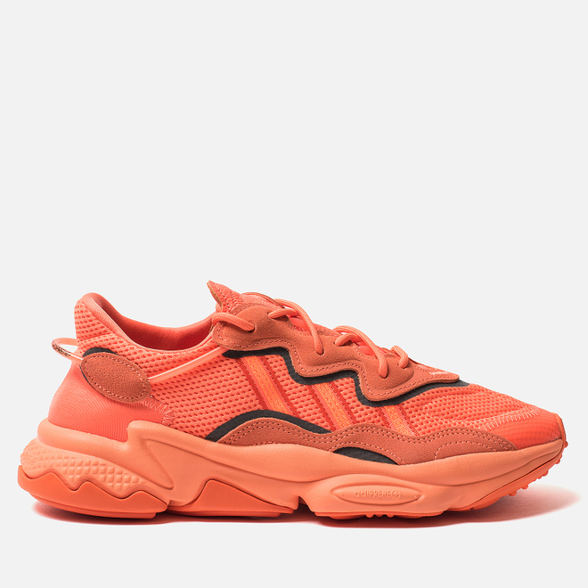 Кроссовки adidas Originals Ozweego Hi-Res Coral/Semi Coral/Solar Orange