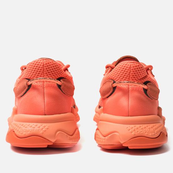 Кроссовки adidas Originals Ozweego Hi-Res Coral/Semi Coral/Solar Orange
