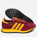 Кроссовки adidas Originals Racing 1 Burgundy/Gold/Black фото- 2