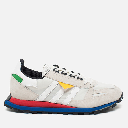 adidas Originals Racing 1 Prototype Vintage Sneakers White/Lush Red