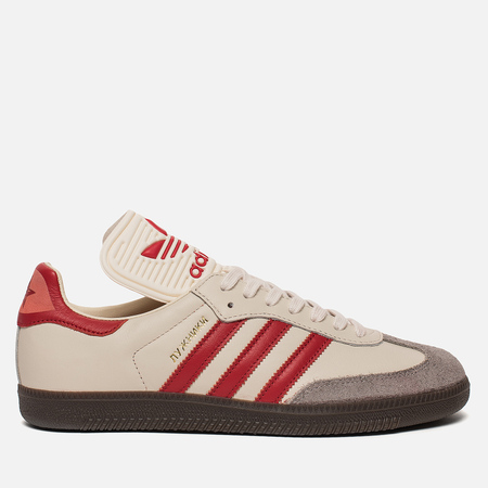 Кроссовки adidas Originals Samba Classic OG Core White/Scarlet/Clear Granite