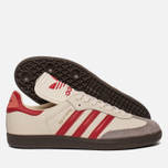 Кроссовки adidas Originals Samba Classic OG Core White/Scarlet/Clear Granite фото- 1