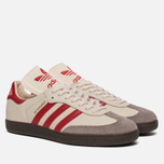 Кроссовки adidas Originals Samba Classic OG Core White/Scarlet/Clear Granite фото- 2