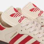 Кроссовки adidas Originals Samba Classic OG Core White/Scarlet/Clear Granite фото- 3
