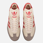 Кроссовки adidas Originals Samba Classic OG Core White/Scarlet/Clear Granite фото- 4
