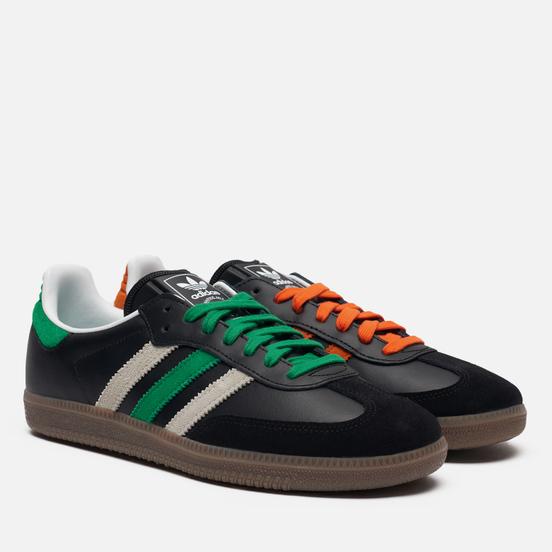 Кроссовки adidas Originals Samba Core Black/Orange/Cloud White
