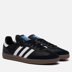 Кроссовки adidas Originals Samba OG Black/White/Gum