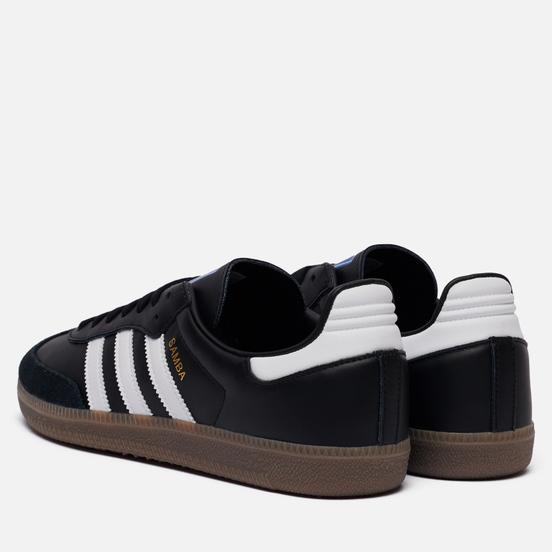 Кроссовки adidas Originals Samba OG Black/White/Gum