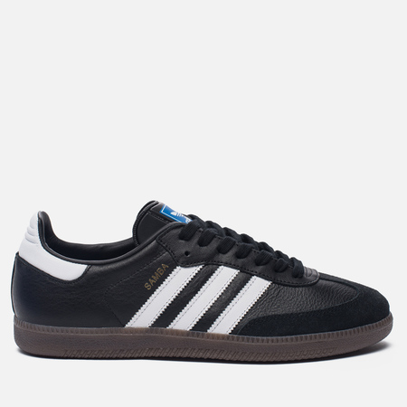 Кроссовки adidas Originals Samba OG Core Black/Running White/Gum