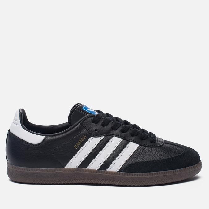 Кроссовки adidas Originals Samba OG Core Black/Running White/Gum