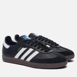 Кроссовки adidas Originals Samba OG Core Black/Running White/Gum фото- 1