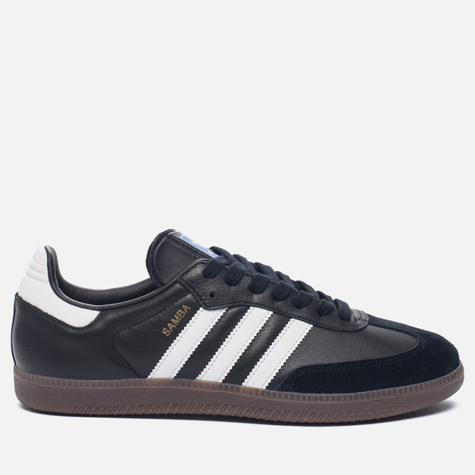 Кроссовки adidas Originals Samba OG Core Black/White/Gum