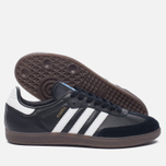Кроссовки adidas Originals Samba OG Core Black/White/Gum фото- 1