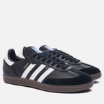 Кроссовки adidas Originals Samba OG Core Black/White/Gum фото- 2