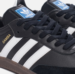 Кроссовки adidas Originals Samba OG Core Black/White/Gum фото- 5