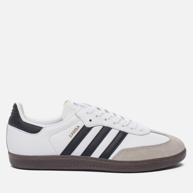 Кроссовки adidas Originals Samba OG White/Core Black/Clear Granite