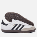 Кроссовки adidas Originals Samba OG White/Core Black/Clear Granite фото- 1