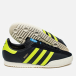 Мужские кроссовки adidas Originals Samba Spezial Black/Lime/White фото- 2
