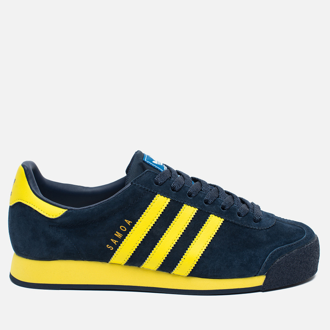 Кроссовки adidas Originals Samoa Vintage Collegiate Navy/Bright Yellow/Bluebird