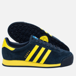 Кроссовки adidas Originals Samoa Vintage Collegiate Navy/Bright Yellow/Bluebird фото- 2