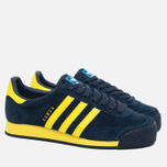 Кроссовки adidas Originals Samoa Vintage Collegiate Navy/Bright Yellow/Bluebird фото- 1
