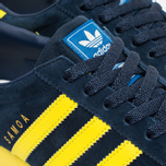Кроссовки adidas Originals Samoa Vintage Collegiate Navy/Bright Yellow/Bluebird фото- 5