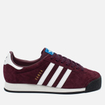 Кроссовки adidas Originals Samoa Vintage Vinous/White/Black фото- 0