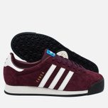 Кроссовки adidas Originals Samoa Vintage Vinous/White/Black фото- 1