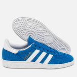 Кроссовки adidas Originals Spezial Weave Blue/White фото- 2